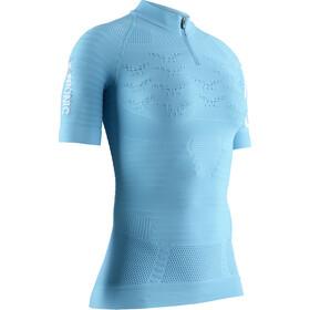 X-Bionic Effektor 4.0 Trail Run Bluza z zamkiem błyskawicznym Kobiety, turkusowy